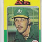 Joe Rudi Baseball Trading Card 1975 Topps #545 Athletics *EX *BILL