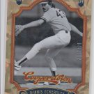 Dennis Eckersely Crystal Collection Ice SP 2012 Panini Cooperstown #42 260299