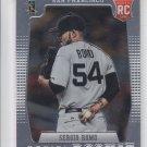 Sergio Romo RC Baseball Trading Card 2012 Panini Prizm #160 Giants