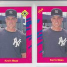 Kevin Maas Trading Card Lot of (2) 1990 Classic Update #T30 Yankees
