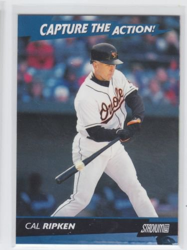 Cal Ripken Jr Capture The Action Insert 2001 Topps Stadium Club Orioles *BILL
