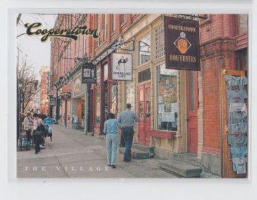 The Village Main Street Insert 2012 Panini Cooperstown #1