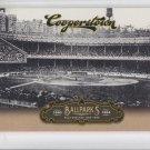 Field Groves Ballparks Boston Insert 2012 Panini Cooperstown #4