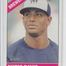 Khris Davis Trading Card 2015 Topps Heritage #357 Brewers QTY