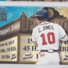 Chipper Jones Feature Attraction Insert 2000 Pacific Invincible 2 Braves *BILL