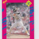 Dave Stewart Trading Card Single 1990 Classic Update #T47 Athletics