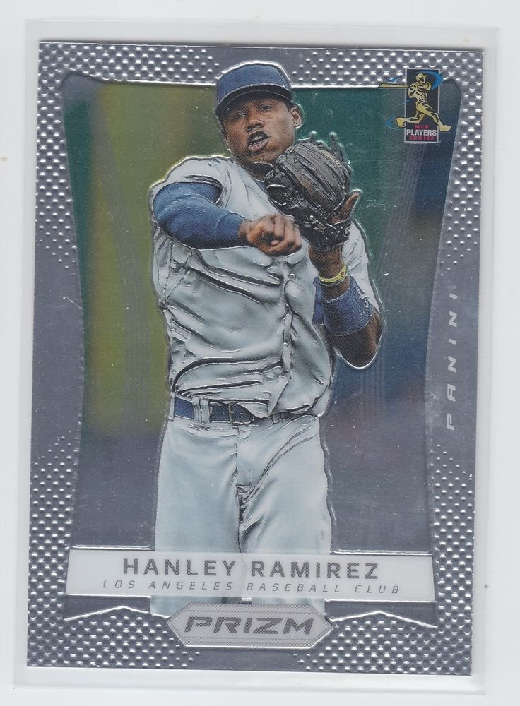 Hanley Ramirez Baseball Trading Card Single 2012 Panini Prizm #15 Dodgers