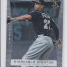 Giancarlo Stanton Baseball Trading Card Single 2012 Panini Prizm #57 Marlins