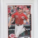 Jay Bruce Trading Card Single 2014 Topps Mini #124 Reds