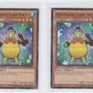 Performapal Stamp Turtle Single 1996 YuGiOh Konami SECE-EN005 Common x2