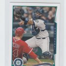 Jesus Montero Trading Card Single 2014 Topps Mini 529 Mariners