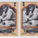 Honus Wagner Trading Card Lot of (2) 2012 Panini Cooperstown #3 Pirates