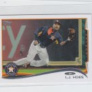 L.J. Hoes Trading Card Single 2014 Topps Mini 647 Astros