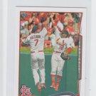Jon Jay Trading Card Single 2014 Topps Mini #538 Cardinals