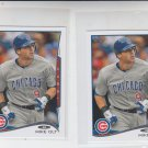 Mike Olt Trading Card Lot of (2) 2014 Topps Mini 386 Cubs
