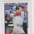 Mike Carp Trading Card Single 2014 Topps Mini 11 Red Sox