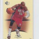 Vince Carter Basketball Trading Card Single 2007-08 UD SP #56 Nets