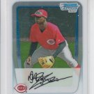 DiDi Gregorius First Prospect Card 2011 Bowman Chrome #BCP209 Reds