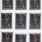 Litterial Green RC Basketball Trading Card Lot of (11) 1992-93 Topps #299 Magic