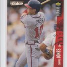 Chipper Jones All Rookie 1996 UD Collector's Choice #42 Braves *BILL