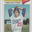 Don Sutton Baseball Trading Card 1977 Topps #620 Dodgers NMT *BILL