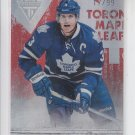 Dion Phaneuf  Ruby Parallel SP 2011-12 Panini Titanium #28 Leafs 17/99