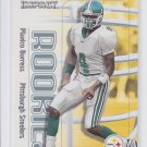 Plaxico Burress RC Trading Card 2000 Fleer Impact #21 Steelers  *BILL