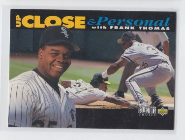 Frank Thomas Up Close & Personal 1994 UD Collector's Choice #640 White Sox *BILL