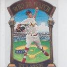 Rick Ankiel Who To Watch Trading Card 2000 Fleer Tradition #1 Cardinals  *BILL