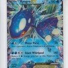 Kyogre EX Trading Card Single x1 Pokemon Black & White XY Primal Clash 54/160
