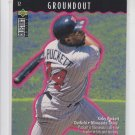 Kirby Puckett You Make The Play Groundout 1995 UD Collector's Choice Twins *BILL