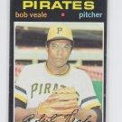 Bob Veale Baseball Trading Card 1971 Topps #368 Pirates EX *BILL