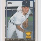 Mark Leiter Gold Winners Parallel 2nd Year 1992 Topps #537 Tigers *BILL