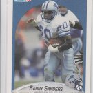 Barry Sanders Trading Card Single 1990 Topps #284 Lions