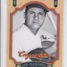 Carl Yastrzemski Baseball Trading Card Single 2012 Panini Cooperstown 80 Red Sox