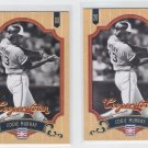 Eddie Murray Baseball Trading Card Lot of (2) 2012 Panini Cooperstown 43