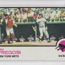 Jim Fregosi Baseball Trading Card 1973 Topps #525 Mets EXMT *BILL