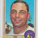 Sal Bando Baseball Trading Card 1968 Topps #146 Athletics NMMT *BILL