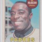 Al McBean Baseball Trading Card 1969 OPC #14 Padres EX+ *BILL