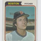 Rick Wise Baseball Trading Card 1974 Topps #84 Red Sox EX