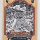 Jackie Robinson Baseball Trading Card Single 2012 Panini Cooperstown 72 Dodgers