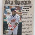Manny Ramirez Big League Beat Insert 2001 Upper Deck MVP #BB11 Indians  *BILL