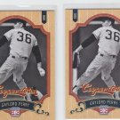 Gaylord Perry Baseball Trading Card Lot of (2) 2012 Panini Cooperstown 61 Giants