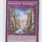 RaidRaptor Readiness 1st Edition YuGiOh SECE-EN070 x1 Common