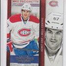 Max Pacioretty Trading Card Single 2013-14 Panini Contenders #60 Canadiens
