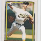 Joe Slusarski Gold Parallel Trading Card 1992 Topps #651 Athletics