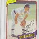 Sal Bando Trading Card Single 1980 Topps #715 Brewers NMT