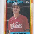 Robin Ventura RC Trading Card Single 1990 Topps #121 White Sox