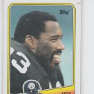 Keith Willis Trading Card Single 1988 Topps #170 Steelers