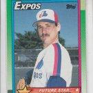 Mark Gardiner RC Trading Card Single 1990 Topps #284 Expos Future Star
